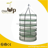 hydroponics 6 layer detachable drying net /plant herb drying net/excellent quality new style mesh drying rack