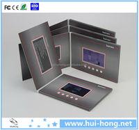 5 inch lcd video in book, video in card, video in brochure