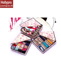 TV468B-012 to 015 High quality foldable decorative fabric non-woven storage box with lid