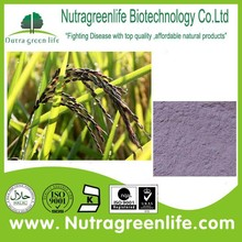 factory price Natural Antioxidation Black rice extract