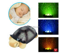 Star rotate musical projector sleeping baby night light with music