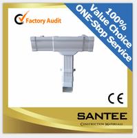 Best price custom white pvc rainwater gutter