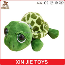 OEM lovely turtle plush toys big eyes plush turtle toy custom sea animal plush toys