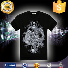 Fashion and popular products O-neck low price customized t shirts