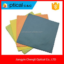 customised microfiber lens/eyeglass cleaning cloth