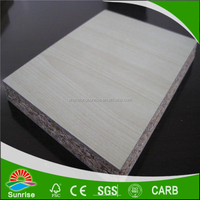 4*8 melamine paper laminated particle board in sale