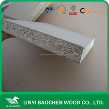 Linyi plain particle board/4'x8', 5'x8'/ pre laminated chipboard/ melamine particle flakeboard