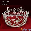 Wholesae cheap full round pageant crowns