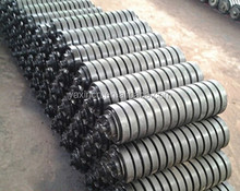 conveyor transport carrying guide rollers