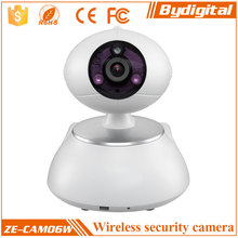 Bydigital White 1.3 Megapixel 3X Optical Zoom H.264 Original pan tilt Wifi Wireless Hot IP Camera