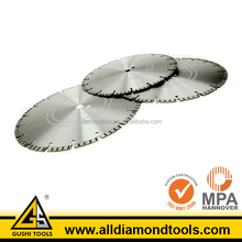 Concrete Dry Cutting Diamond Laser Weld Saw Blade for Walk Behind Saw