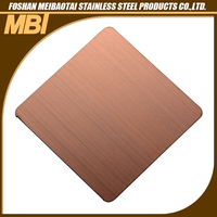 304 Hairline type sheet stainless steel price