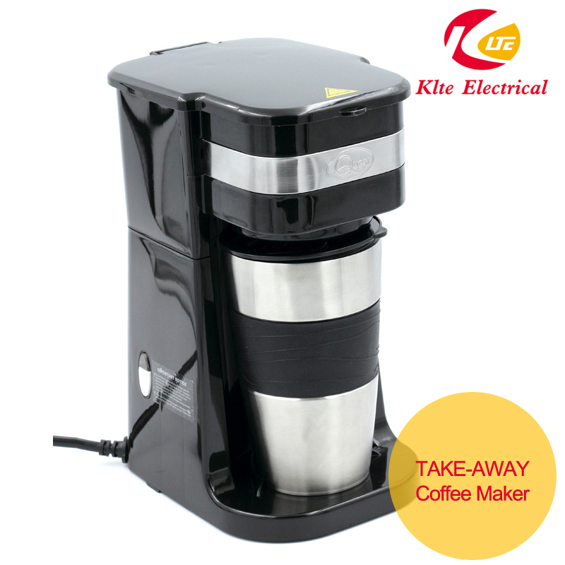 Single Cup Coffee Maker With 15-oz Vacuum Travel Mug - Buy Electric Travel Coffee Maker,1 Cup ...