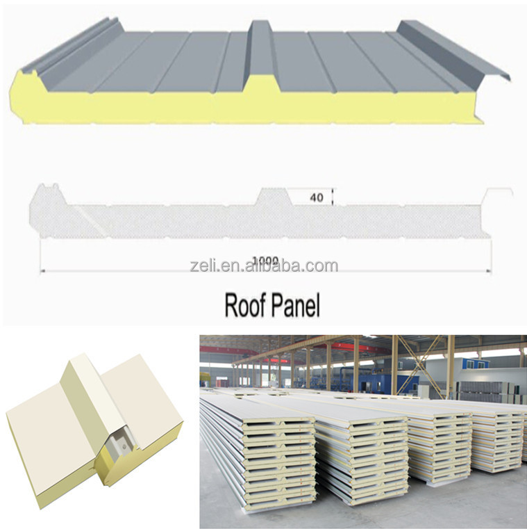 Structural insulated panel polyurethane foam sandwich roof for Where to buy sip panels