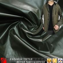 shiny nylon taffeta full dull fabric for men and women' jacket and down coat casual wear