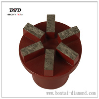 Diamond Segmented Grinding Plug For Terrazzo And Concrete
