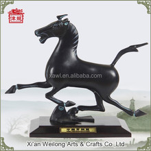 Decorate your desk art sculptures for sale bronze horse statue HQY706