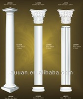 Decorative plastic pillars columns