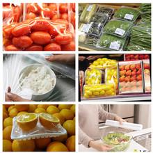 plastic wrap packaging design for takeaway food