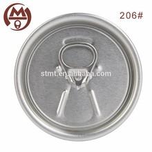 206 Partial open beer lid aluminum eoe lid manufacturer