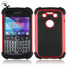 Wholesale For Blackberry 9790 Back Cover with 3 in 1 Phone Case