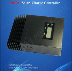 12V 24V 50A Solar Regulator, 50A Solar Controller Charger