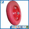 13 inch Polyurethane Flat Free Wheel Barrow PU Foam Wheel 3.00-8
