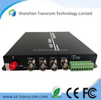 1~8 channel Forward AHD Video / Single Fiber SM 20km Simplex FC conector 720P/ 1080P AHD Video converter