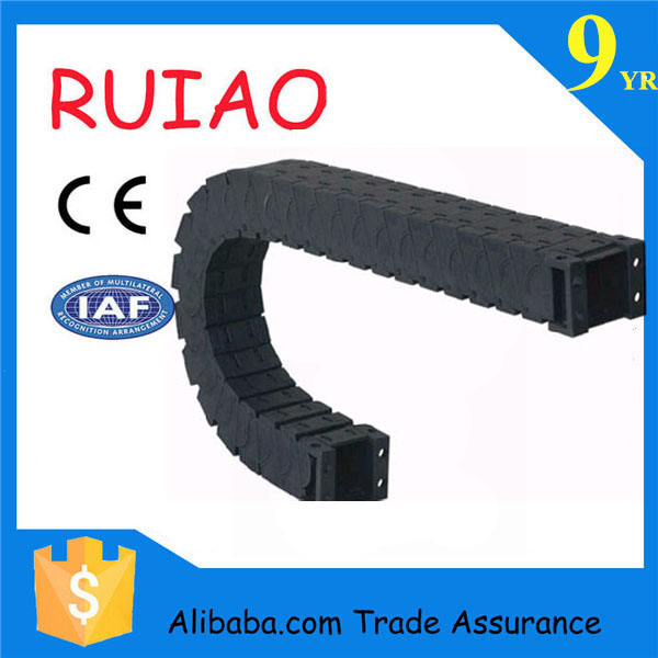 Flexible Wire Track : Flexible plastic or steel cable carrier nylon