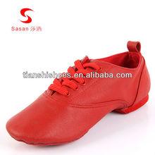 la danza sasan venta al por mayor de cuero genuino zapatos jazz dance suave 7721 zapatos