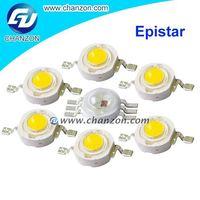90LM-240LM High Luminous 3v 3w High Power Led 1w Led Lamp Beads 1 watt led driver