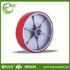 plain bearing 8-12in Pu Foam Solid Wheel