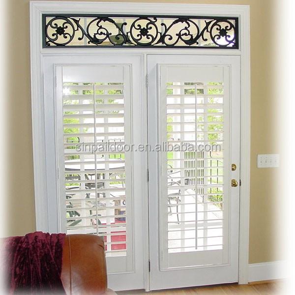 Exterior sliding patio french door with mini door for pet - Exterior french doors with pet door ...