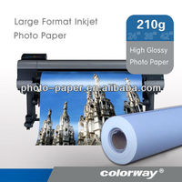 Self Adhesive High Glossy photo Paper rolls( factory good price)