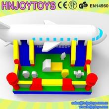 Airplane Jumping Inflatable Children Playground