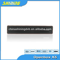 2013 Newest Openbox X5 hd dvr support wifi satellite receiver