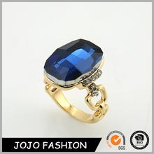 Yiwu factory price gold wedding rings sapphire gemstone ring 2 gram gold ring/