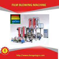 lifting PE rotary die plastic film blowing machine