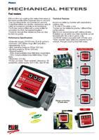 Mechanic diesel meter