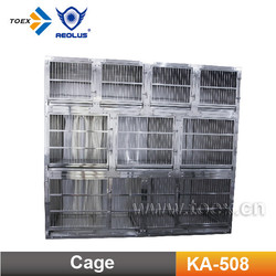 Stainless Steel assmble dog cage KA-508