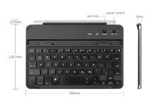 aluminum material wireless bluetooth arabic keyboard with magnet for ipad mini