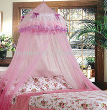 PINK PRINCESS GIRLS BED CANOPY