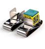 Magnetic Snooker Billiard Pool Cue Stick Chalk Holder Stainless Steel Clip+Carabiner