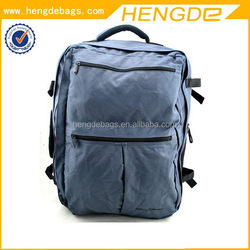 Modern special army green canvas backpack
