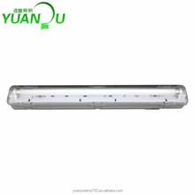 T8 waterproof Fluorescent light fixture single tube 18W 36W 58W fluorescent light fixture