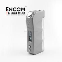 2015 Crazy Selling Temp Control Box Mod E cigarette Starter Kit 70w TC Mod VV VW ENCOM TX Box Mod