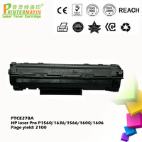 Compatible ce 278 Toner Cartridge FOR USE IN HP Laser Pro P1560/1636 (PTCE278A)