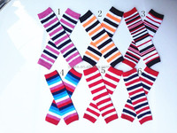 HIgh quality christmas 100% cotton baby leg warmers knitting leg warmers for kids