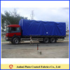 pvc cover with brass rings and rope for truck