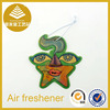 Hot selling eco-friendly customer sneaker car scent paper air freshener for promotion